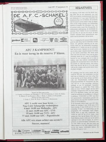 Schakels (clubbladen) 1997-05-01