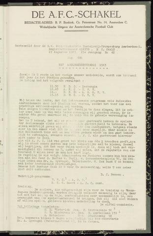 Schakels (clubbladen) 1943-08-19