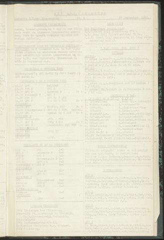 Bulletins (vnl. opstellingen) 1955-09-27