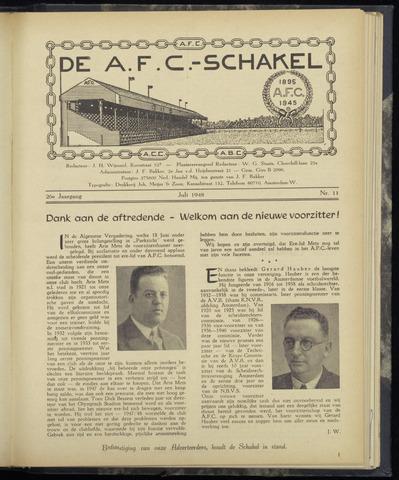 Schakels (clubbladen) 1948-07-01