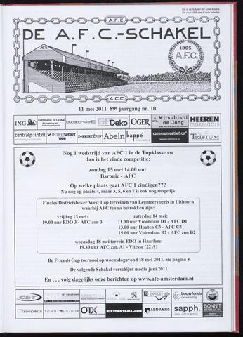Schakels (clubbladen) 2011-05-11