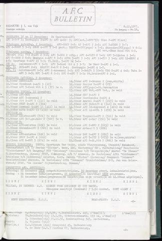 Bulletins (vnl. opstellingen) 1967-12-06