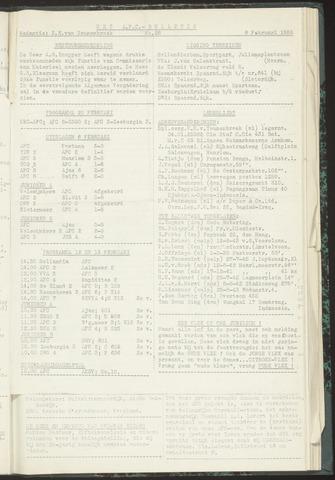 Bulletins (vnl. opstellingen) 1955-02-08
