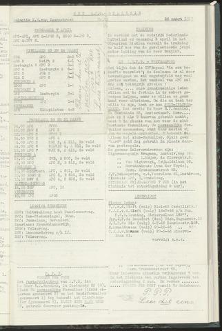 Bulletins (vnl. opstellingen) 1957-03-26