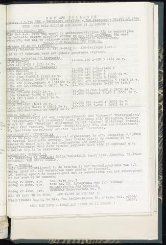 Bulletins (vnl. opstellingen) 1966-02-16