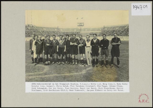 Foto's 1947