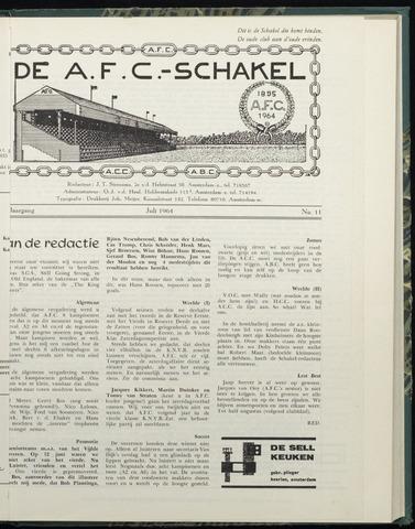 Schakels (clubbladen) 1964-07-01