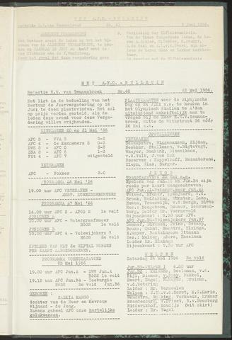 Bulletins (vnl. opstellingen) 1956-05-22