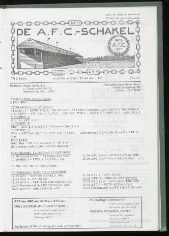 Schakels (clubbladen) 1977-10-12
