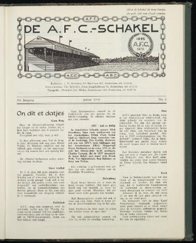 Schakels (clubbladen) 1970