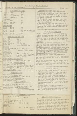 Bulletins (vnl. opstellingen) 1953-05-05