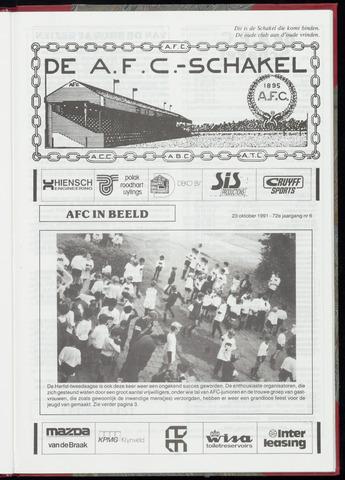 Schakels (clubbladen) 1991-10-23
