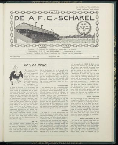 Schakels (clubbladen) 1965-08-01