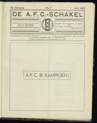 Schakels (clubbladen) 1935-04-01