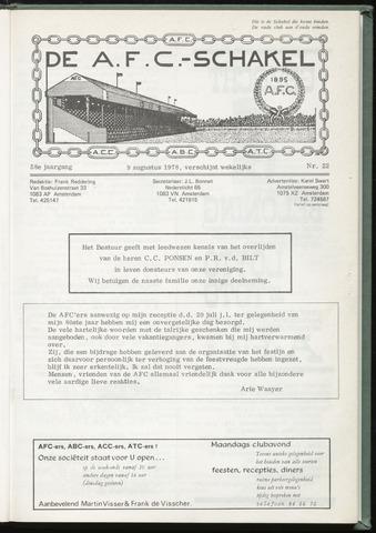 Schakels (clubbladen) 1978-08-09