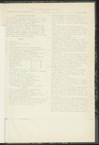 Bulletins (vnl. opstellingen) 1956-06-05