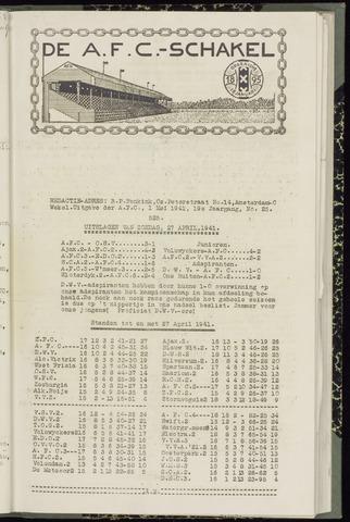 Schakels (clubbladen) 1941-05-01