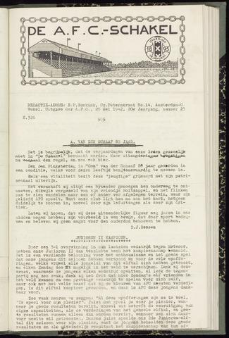 Schakels (clubbladen) 1942-05-29