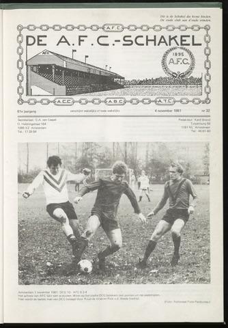 Schakels (clubbladen) 1981-11-04