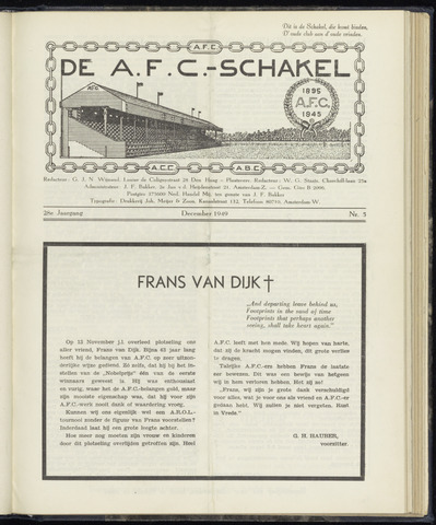 Schakels (clubbladen) 1949-12-01