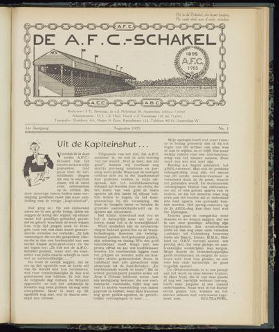 Schakels (clubbladen) 1955-08-01
