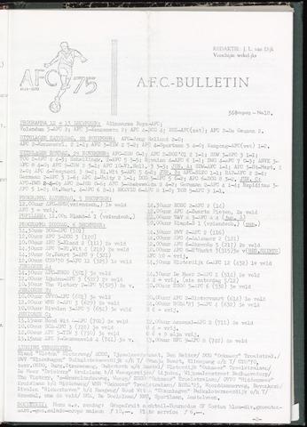 Bulletins (vnl. opstellingen) 1970-12-02
