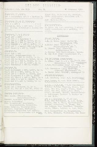 Bulletins (vnl. opstellingen) 1962-02-27