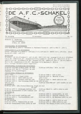Schakels (clubbladen) 1975-11-18
