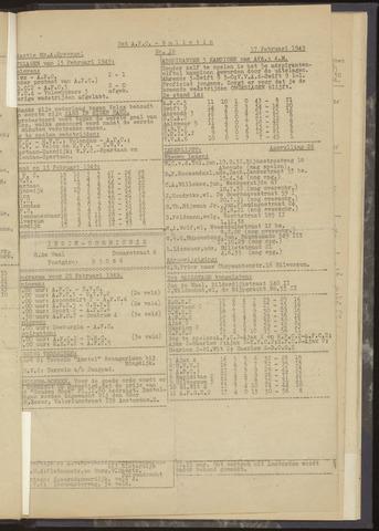 Bulletins (vnl. opstellingen) 1949-02-17