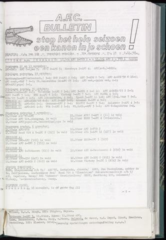 Bulletins (vnl. opstellingen) 1966-11-02
