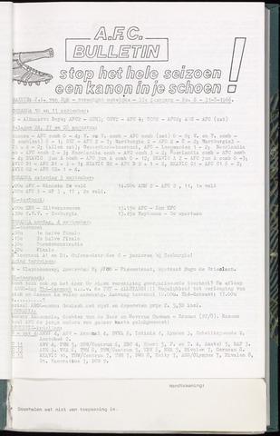Bulletins (vnl. opstellingen) 1966-08-31