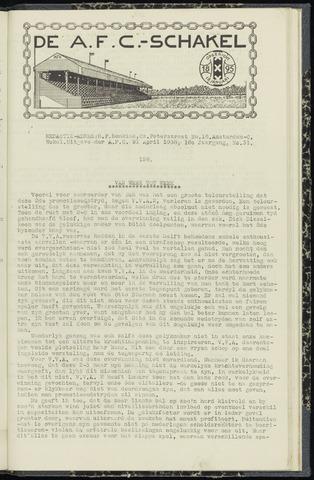 Schakels (clubbladen) 1938-04-21