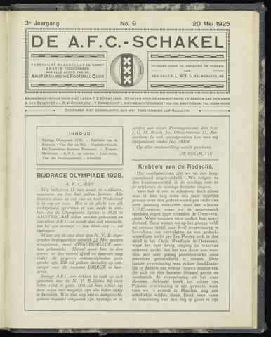 Schakels (clubbladen) 1925-05-20