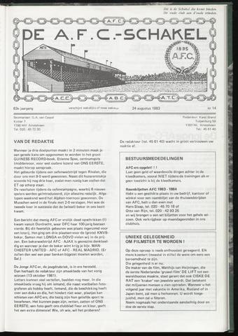 Schakels (clubbladen) 1983-08-24