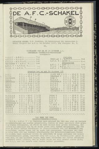 Schakels (clubbladen) 1937-10-14
