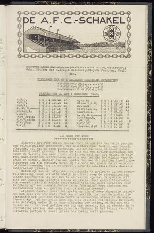 Schakels (clubbladen) 1940-12-05