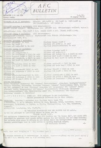 Bulletins (vnl. opstellingen) 1967-09-05