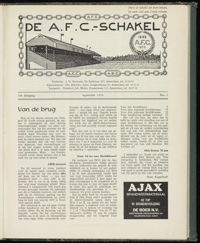Schakels (clubbladen) 1970-09-01