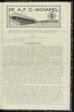 Schakels (clubbladen) 1938-05-19