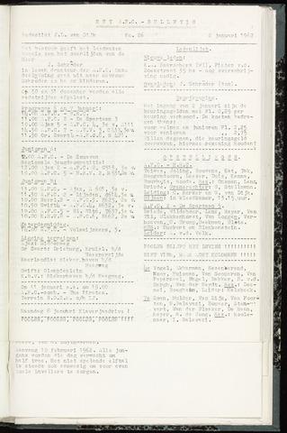 Bulletins (vnl. opstellingen) 1962