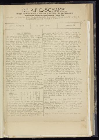 Schakels (clubbladen) 1944-04-13