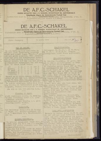 Schakels (clubbladen) 1944-04-06