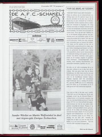 Schakels (clubbladen) 1997-11-12