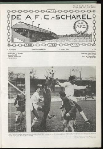 Schakels (clubbladen) 1981-03-11