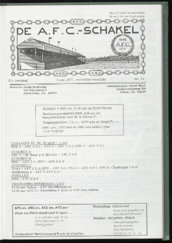 Schakels (clubbladen) 1977-05-04