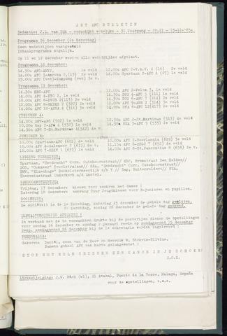 Bulletins (vnl. opstellingen) 1965-12-15