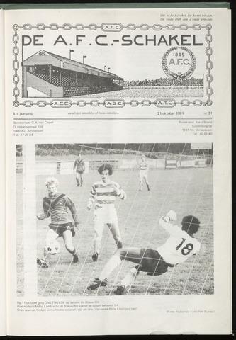 Schakels (clubbladen) 1981-10-21