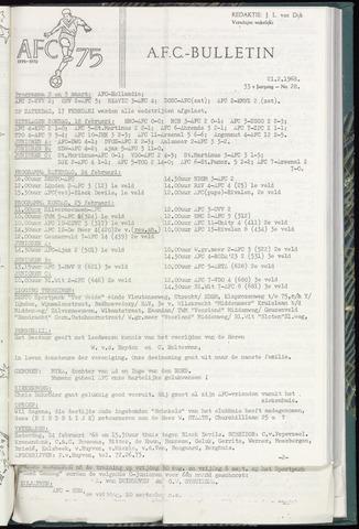 Bulletins (vnl. opstellingen) 1968-02-21