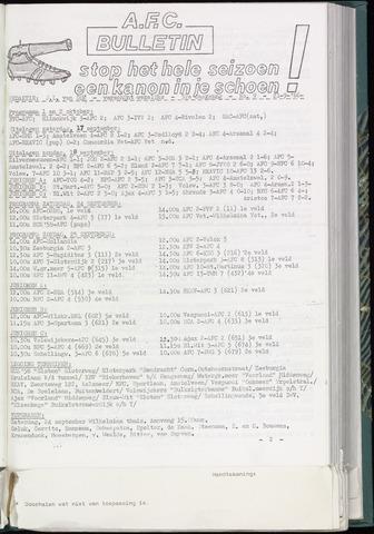 Bulletins (vnl. opstellingen) 1966-09-21