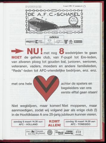 Schakels (clubbladen) 1998-03-04